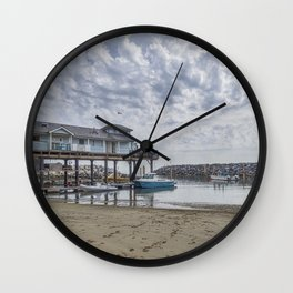 Fishing Haven. Wall Clock
