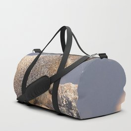 Watercolor Marmot 19, Rocky Mountain National Park, Over Yonder Duffle Bag