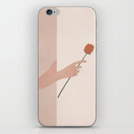 One Rose Flower iPhone Skin