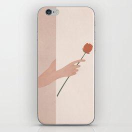 One Rose Flower iPhone Skin