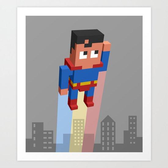 Superkid Art Print