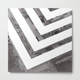 Minimal Displacement Metal Print