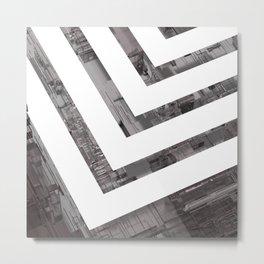 Minimal Displacement Metal Print