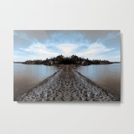 Art Print 1 Lake Superior Mirror 2 [Jordan E. Eismont, Cecilia Lee] Metal Print