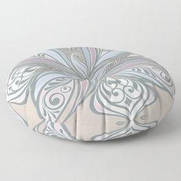 Pastel Rangoli Floor Pillow