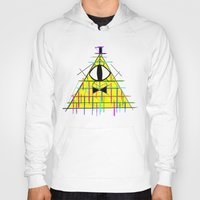 bill cipher Hoodies featuring CIPHER by BMAN0212
