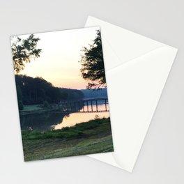 Sunrise Over the Bridge Stationery Cards