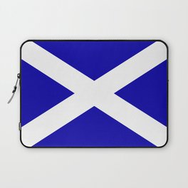 Scottish Flag Laptop Sleeve