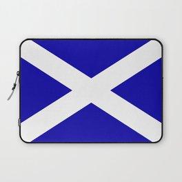 Scottish Flag Laptop Sleeve
