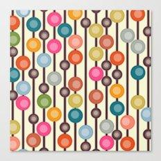 mocha chocca candy bubbles Canvas Print