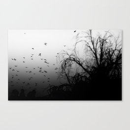 Into The Darkness 3 Canvas Print