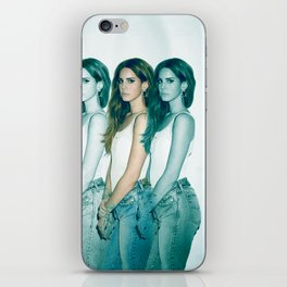 Lana - Blue Jeans, White Shirt iPhone Skin