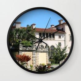 A Villa In Italien Style Wall Clock