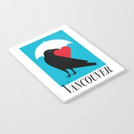 Vancouver's Canuck the Crow Notebook