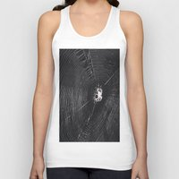 spider Tank Tops featuring Spider by LadyJennD