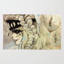 Fantasy Winter Warrior Rug