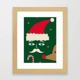 HAPPY CHRISTMAS. II Framed Art Print