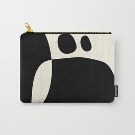 shapes black white minimal abstract art Carry-All Pouch