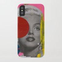 Marilyn iPhone X Slim Case