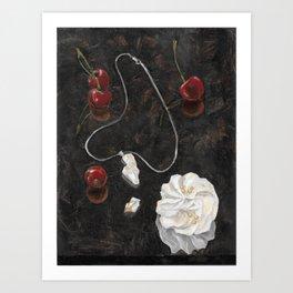 Red Cherries Art Print