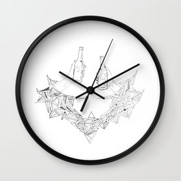 Drinks Wall Clock