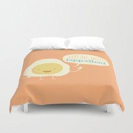 Most Eggcellent Duvet Cover