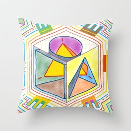 PowerLines 23 Throw Pillow