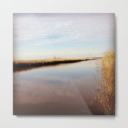 Neches Waterways Metal Print