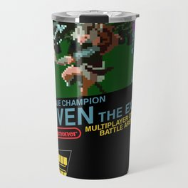 8-bit Champion: Riven Travel Mug