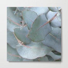 Euc leaves Metal Print
