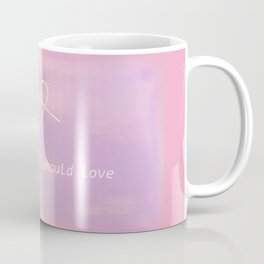 bts jin epiphany - i'm the one i should love Coffee Mug