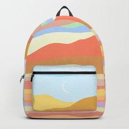warm terrain Backpack