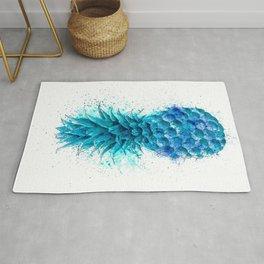 Blue Pineapple Rug