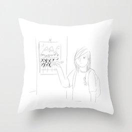 Countdown Throw Pillow