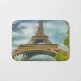 Eiffel Tower - La Tour Eiffel Bath Mat