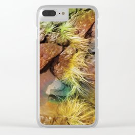North Shore Grass Clear iPhone Case