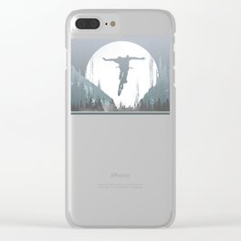 No Hander Line Clear iPhone Case