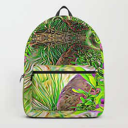 Vibrating Greenery Backpack