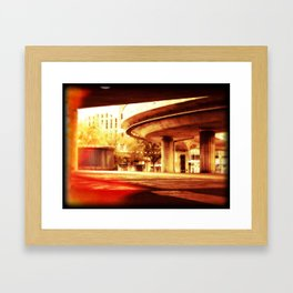 Bridge 61 Framed Art Print