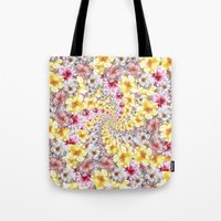 bali Tote Bags featuring bali twist by gasponce