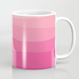 Ombre, Abstract, Pink, Pop art, Minimal, Art, Pattern, Modern art Coffee Mug