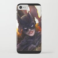 batgirl iPhone & iPod Cases featuring Batgirl by Nicole M Ales