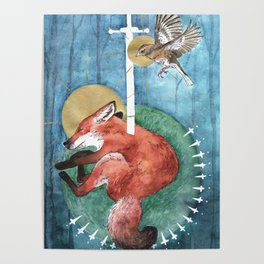 The Too Clever Fox Poster