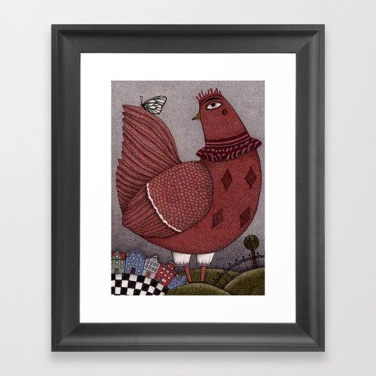 It's a Butterfly! Framed Art Print