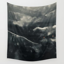 Protector of the Mountain Wall Tapestry