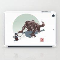 kiki iPad Cases featuring Kiki le petit loup by Alexandre Guillaume