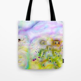 Cotton Candy Cloud Tote Bag