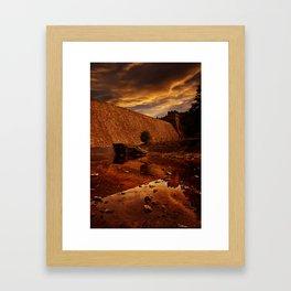 Derwent Overflow Framed Art Print