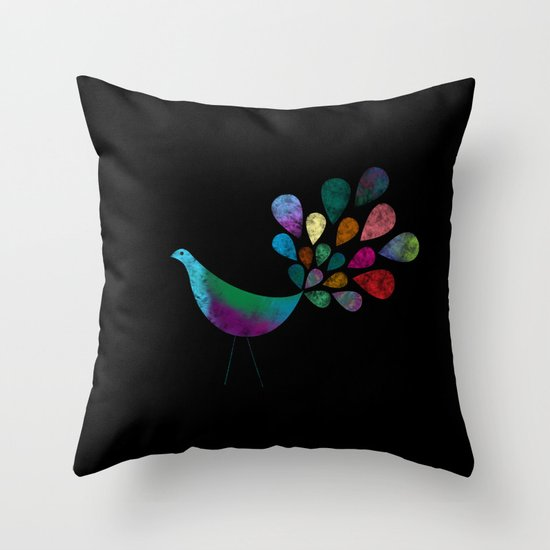 Color 5 Throw Pillow
