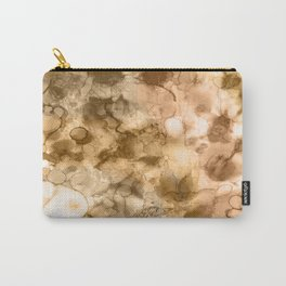 Woodland - Mixed media ink painting Carry-All Pouch